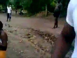 Hete amateur beelden uit Congo